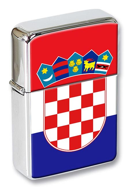 Croatia (Hrvatska) Flip Top Lighter