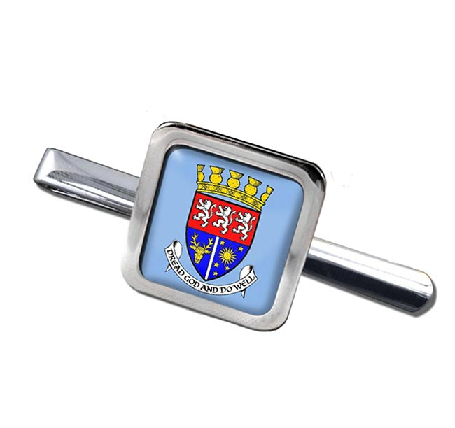 Ross and Cromarty (Scotland) Square Tie Clip