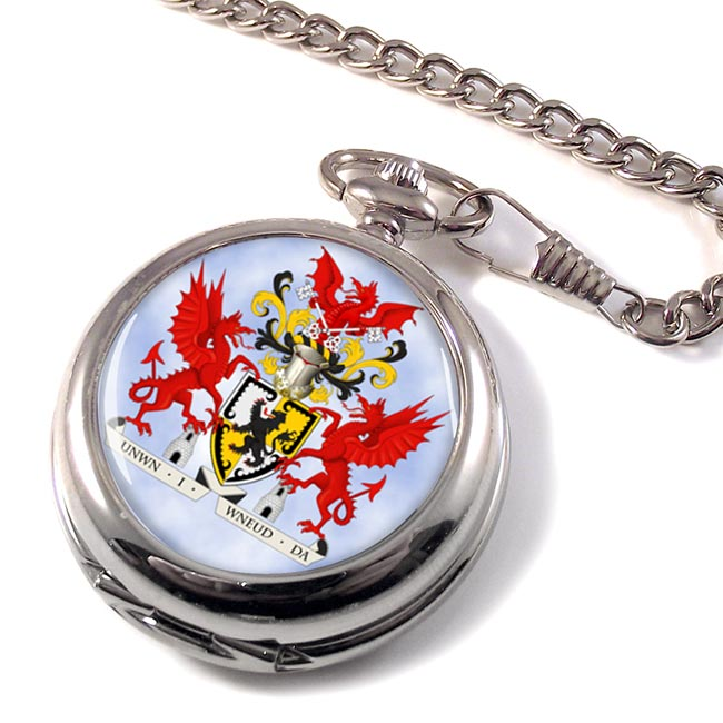 Denbighshire (Wales) Pocket Watch