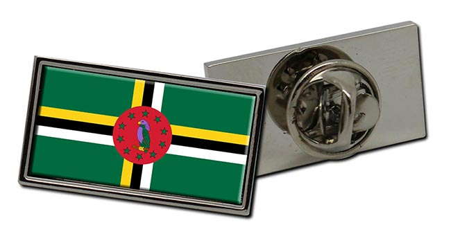 Dominica Flag Pin Badge