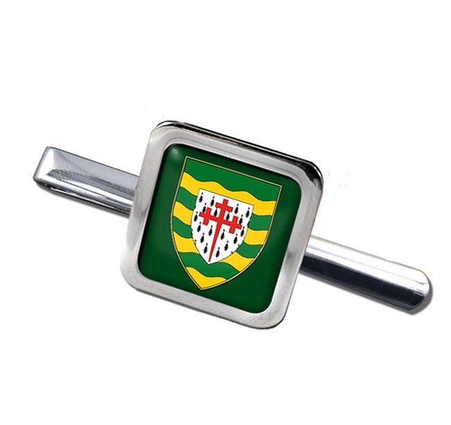 County Donegal (Ireland) Square Tie Clip