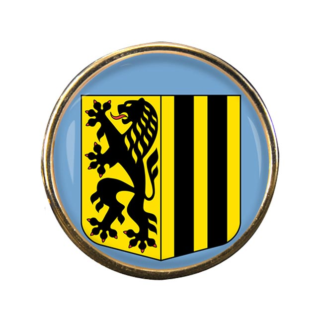 Dresden (Germany) Round Pin Badge