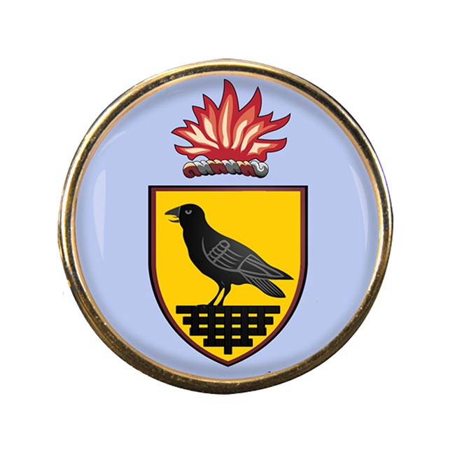 County Dublin (Ireland) Round Pin Badge
