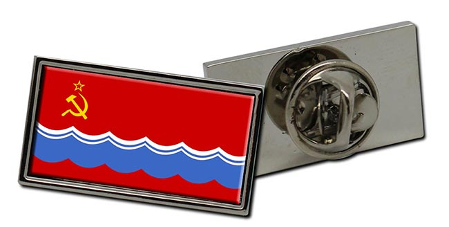 Estonian Soviet  Flag Pin Badge