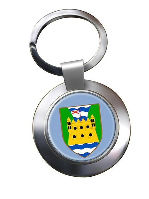 County Fermanagh (UK) Metal Key Ring