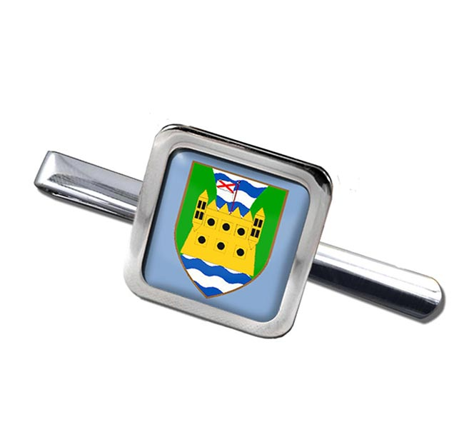 County Fermanagh (UK) Square Tie Clip