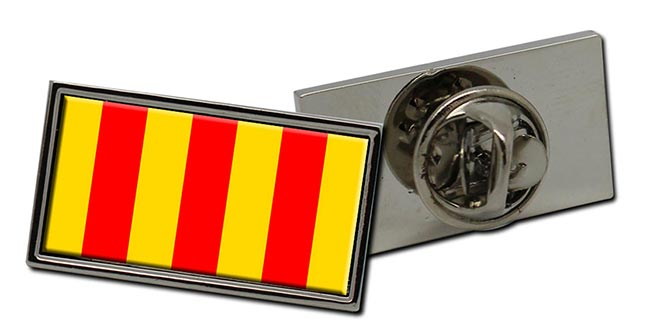 Foix (France) Flag Pin Badge