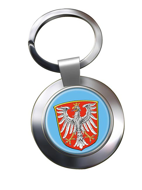 Frankfurt am Main (Germany) Metal Key Ring