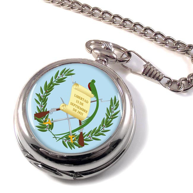 Guatemala Pocket Watch
