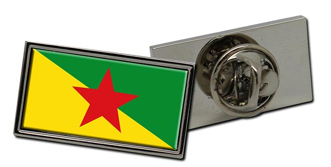 Guyane (French Guiana) Flag Pin Badge