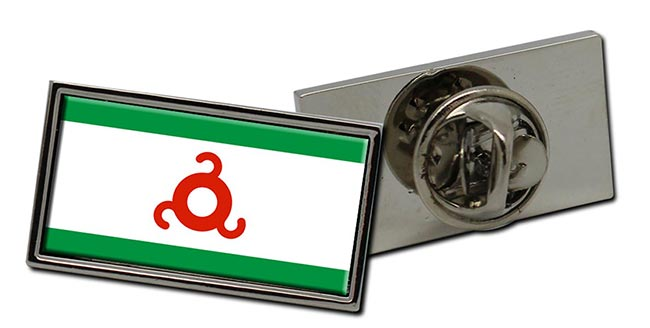 Ingushetia Flag Pin Badge