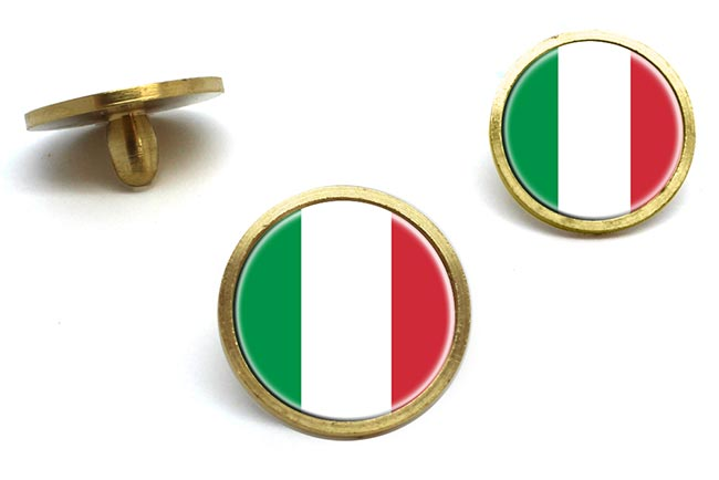 Italy Italia Golf Ball Marker