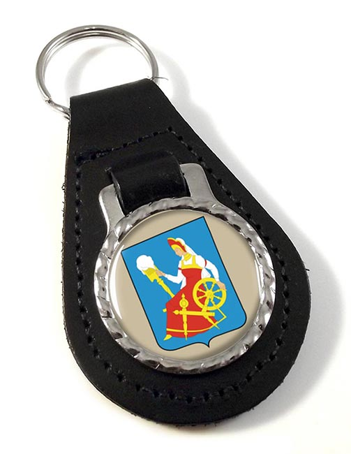 Ivanovo Leather Key Fob