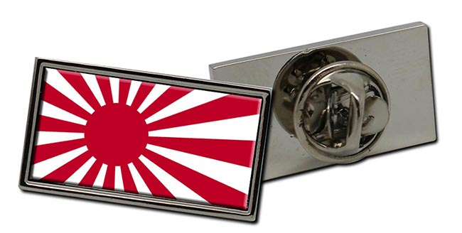 Rising Sun Flag Pin Badge  (Japan) Flag Pin Badge