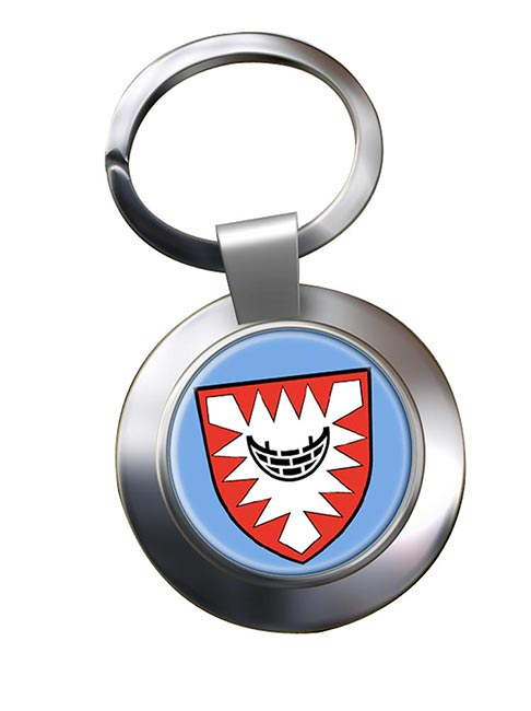 Kiel (Germany) Metal Key Ring
