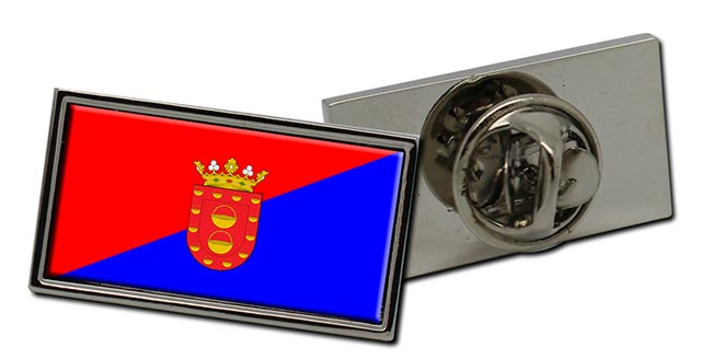 Lanzarote (Spain) Flag Pin Badge