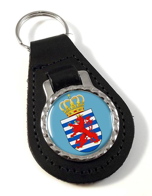 Grand-Duche de Luxembourg Leather Key Fob