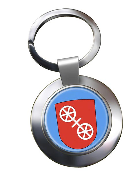 Mainz (Germany) Metal Key Ring