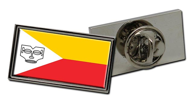 Iles Marquises Flag Pin Badge