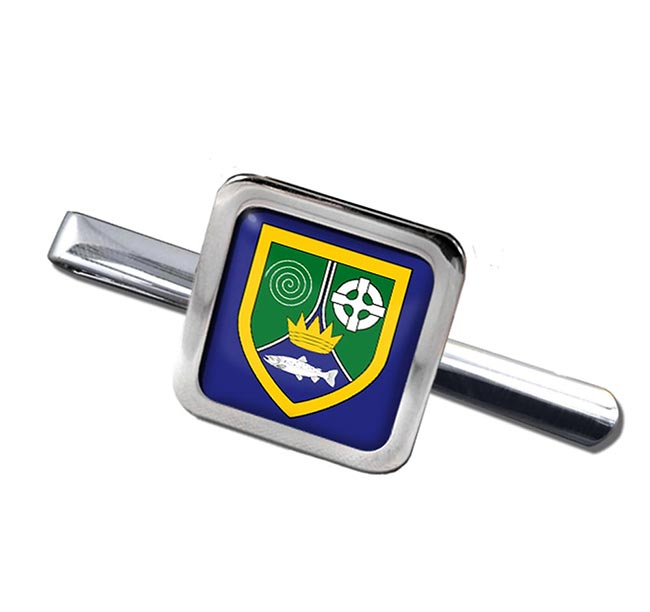 County Meath (Ireland) Square Tie Clip