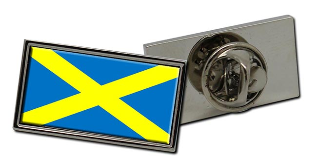 Saint Alban's cross Mercia Flag Pin Badge