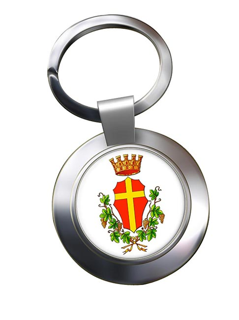 Messina (Italy) Metal Key Ring