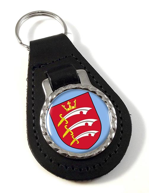 Middlesex (England) Leather Key Fob