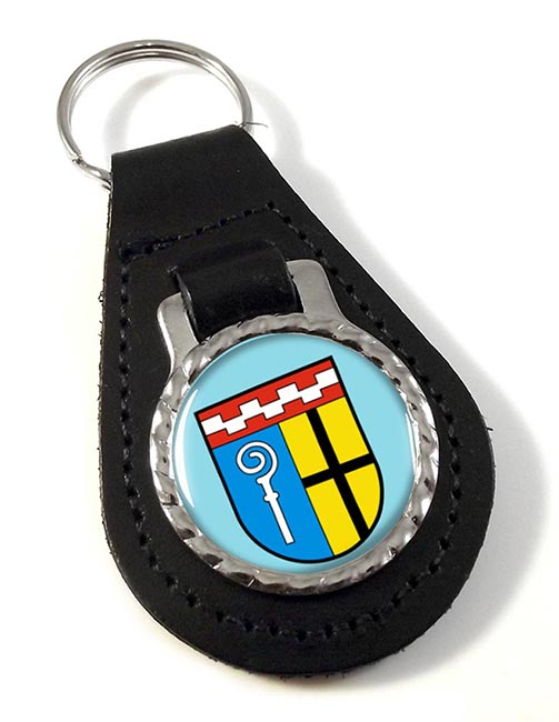Monchengladbach (Germany) Leather Key Fob