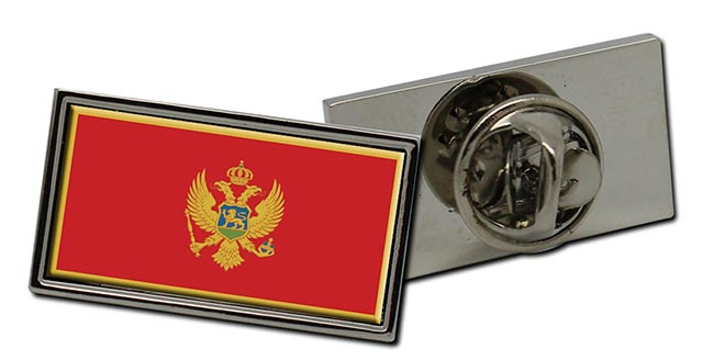 Montenegro Crna Gora Flag Pin Badge