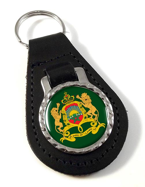 Morocco  Leather Key Fob