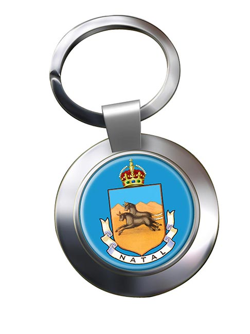 Colony of Natal (South Africa) Metal Key Ring