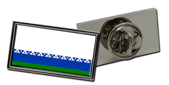 Nenets Okrug Flag Pin Badge