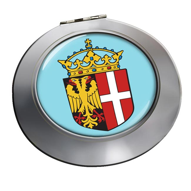 Neuss (Germany) Round Mirror