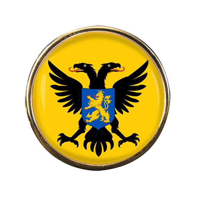 Nijmegen (Netherlands) Round Pin Badge