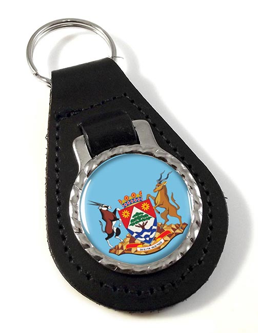 Northern Cape (South Africa) Leather Key Fob