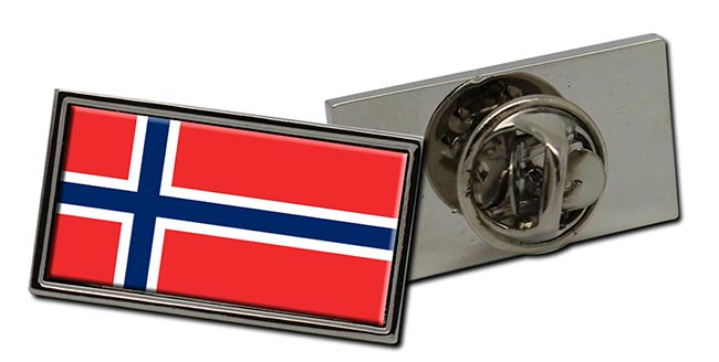 Norway Norge Flag Pin Badge