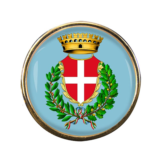 Novara (Italy) Round Pin Badge