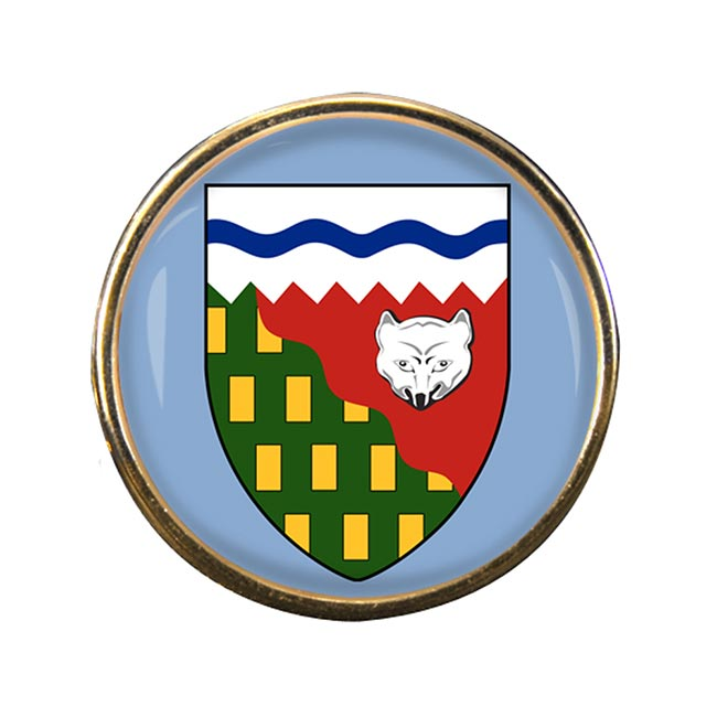 Northwest Territories (Canada) Round Pin Badge