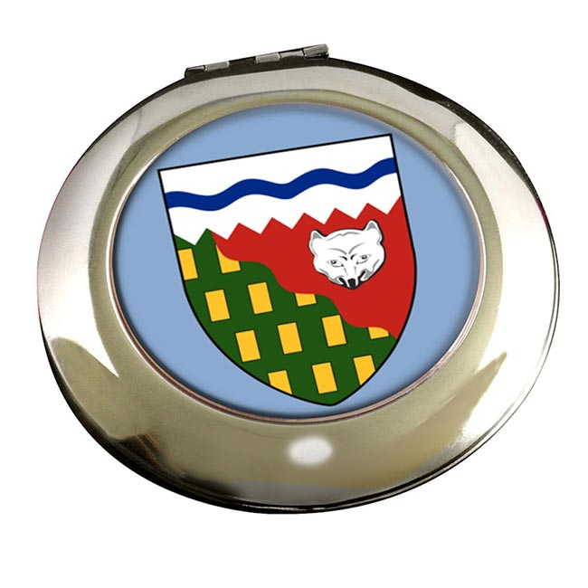 Northwest Territories (Canada) Round Mirror