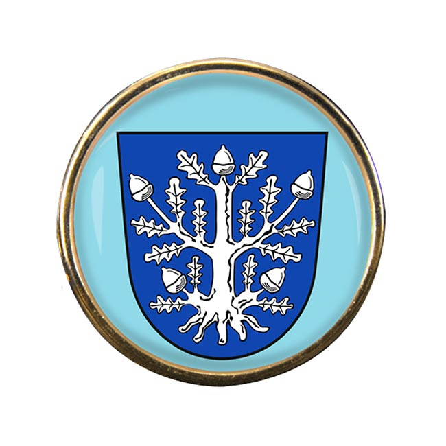 Offenbach am Main (Germany) Round Pin Badge