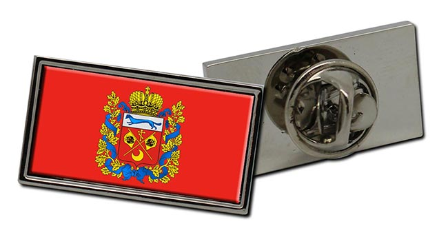 Orenburg Oblast Flag Pin Badge
