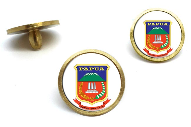Papua (Indonesia) Golf Ball Marker