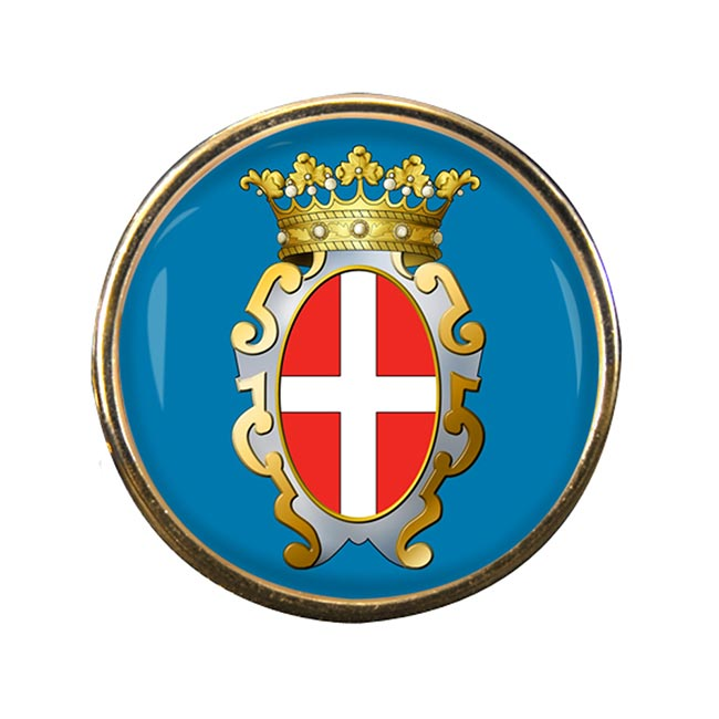 Pavia (Italy) Round Pin Badge