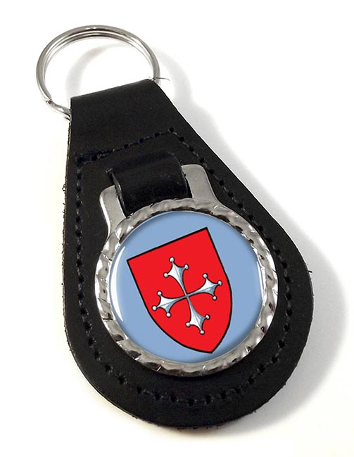 Pisa (Italy) Leather Key Fob