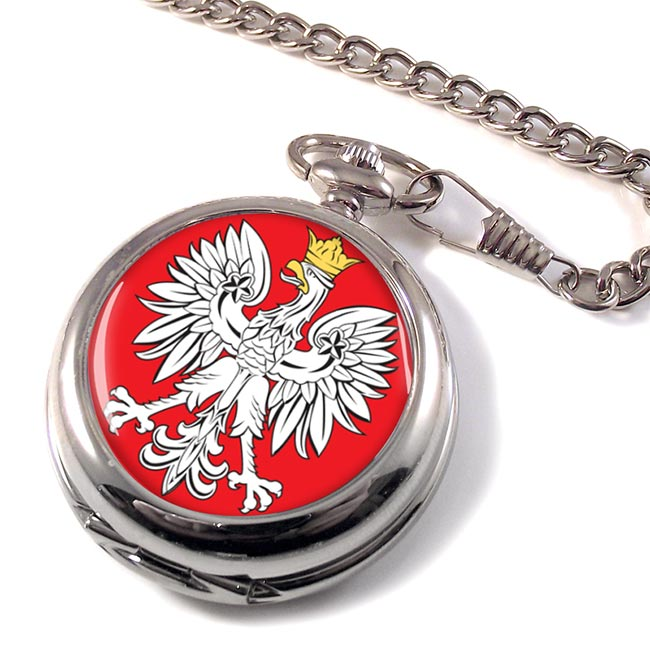 Poland Polska Pocket Watch