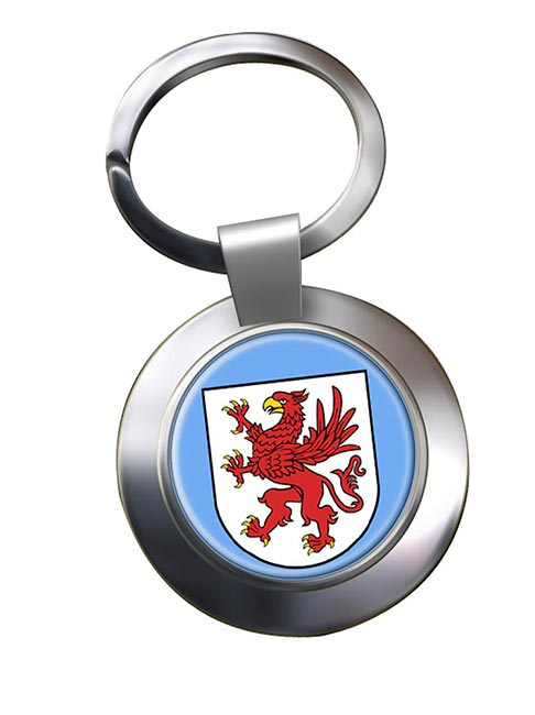 Pommern Pomerania (Germany) Metal Key Ring