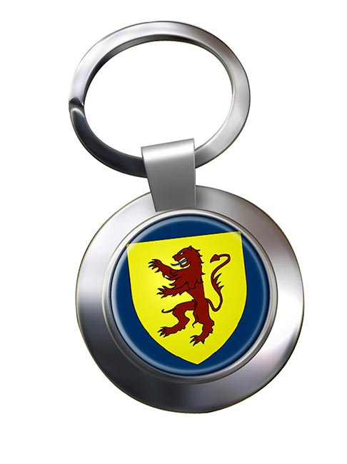 Powys  Metal Key Ring