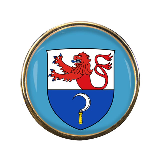 Remscheid (Germany) Round Pin Badge