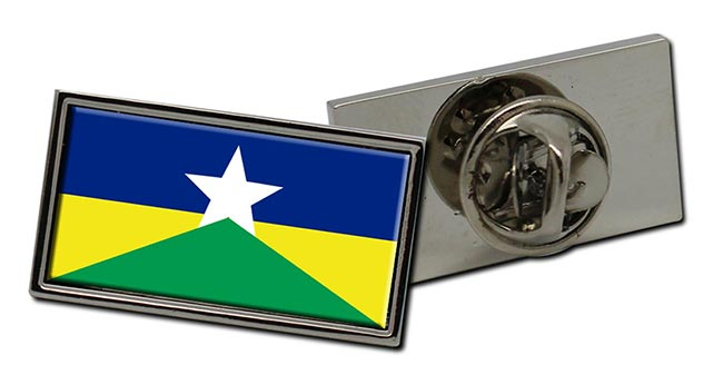 Rondonia (Brasil) Flag Pin Badge