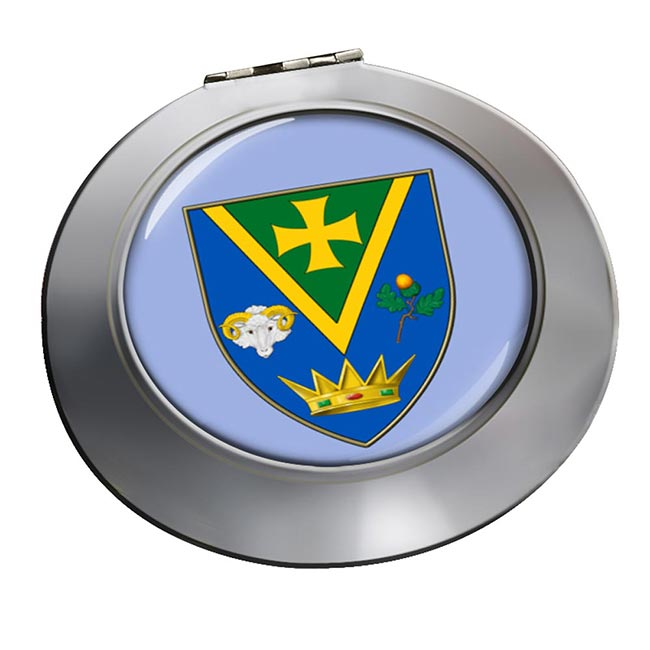 County Roscommon (Ireland) Round Mirror